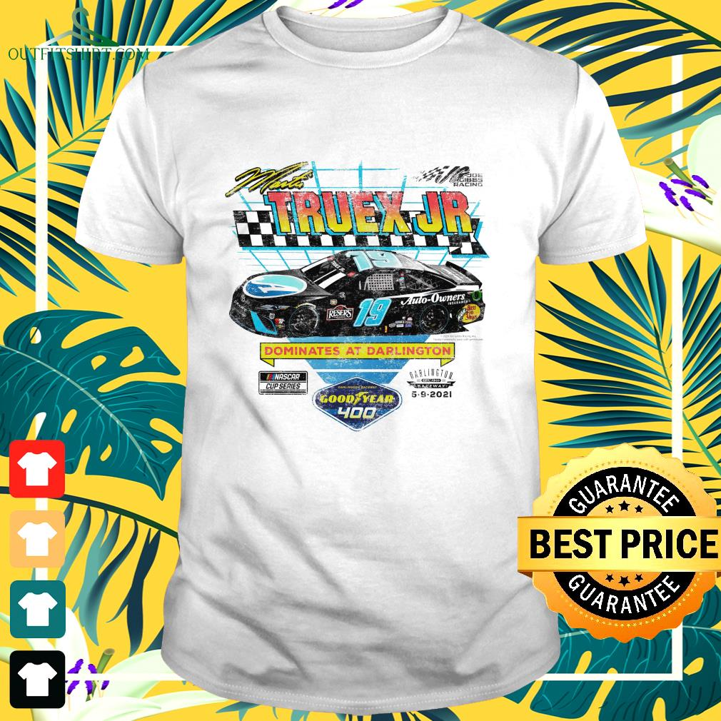 Martin Truex Jr 2021 Goodyear 400 Race Winner t-shirt