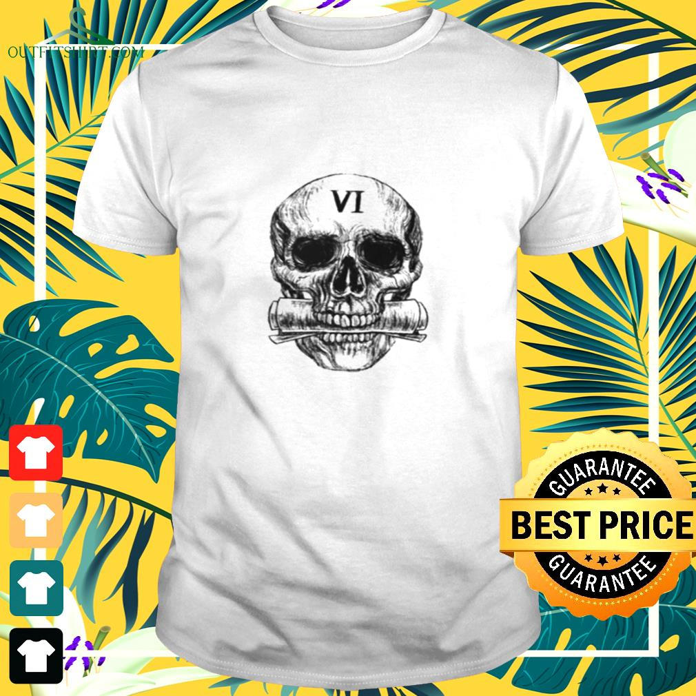 Skull Gideon the Ninth six for the truth t-shirt