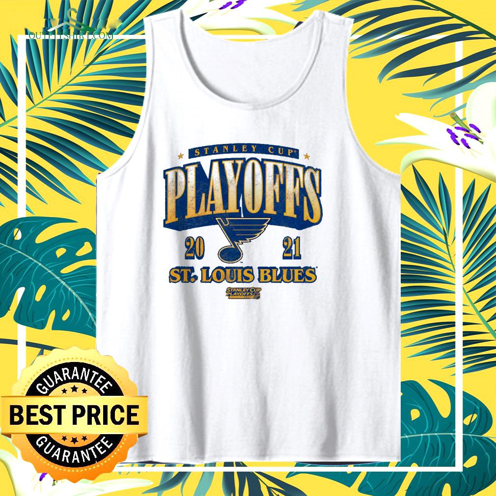 St. Louis Blues 2021 Stanley Cup Playoffs Bound Ring the Alarm tank top