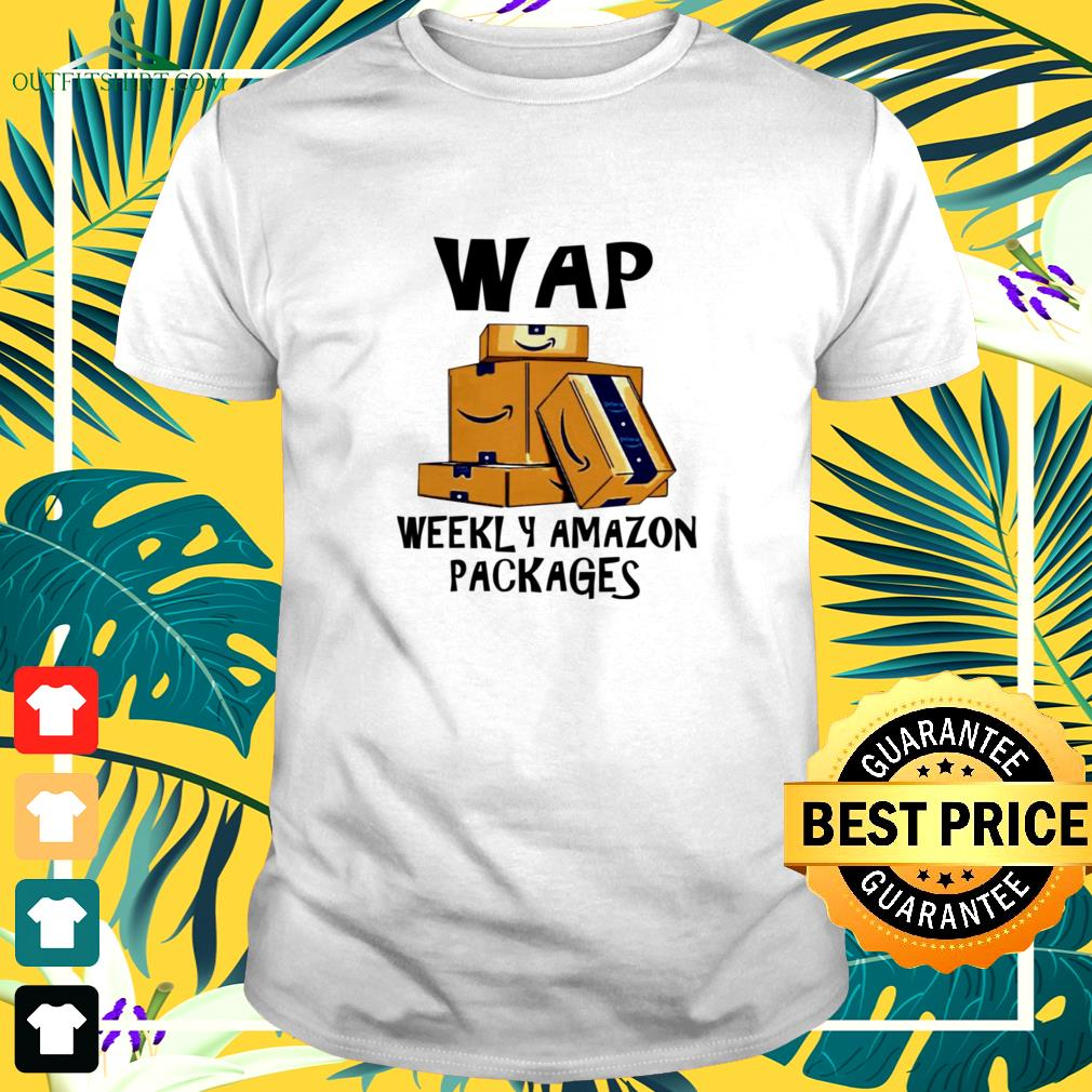 Wap weekly amazon packages t-shirt