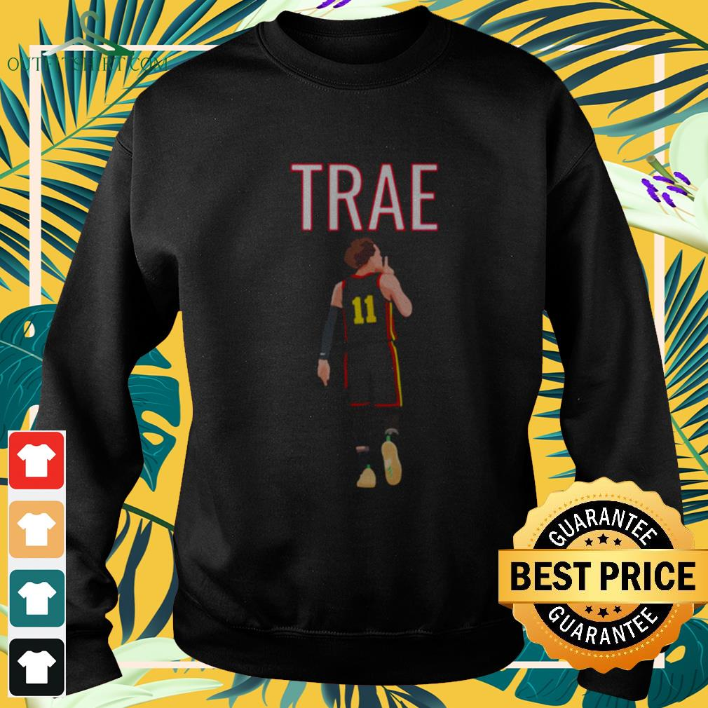 11 Trae Young Shhh quiet sweater