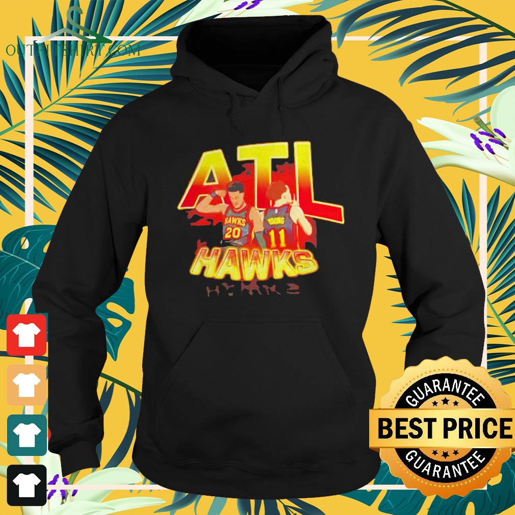 ATL Hawks Trae Young and John Collins hoodie