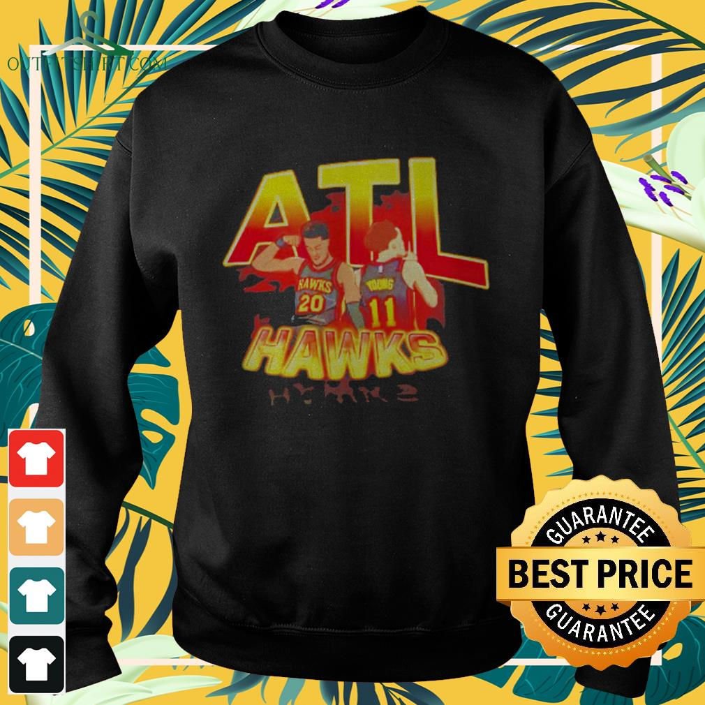 ATL Hawks Trae Young and John Collins sweater