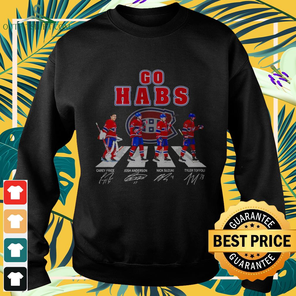 Abbey Road The Go Habs signature sweater