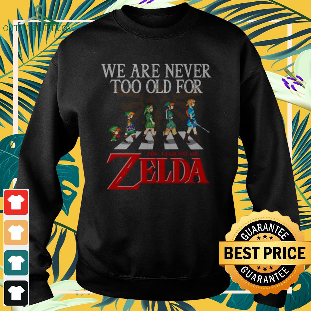 Abbey Road We are never too old for The Legend of Zelda sweater