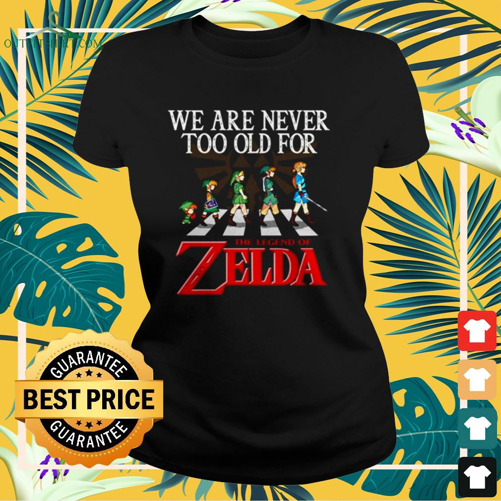 Abbey Road We are never too old for The Legend of Zelda tladies-ee