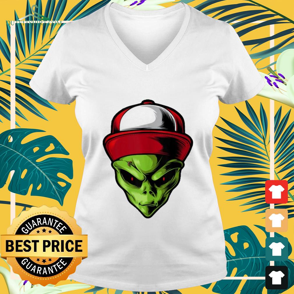 Alien are you ready v-neck t-shirt