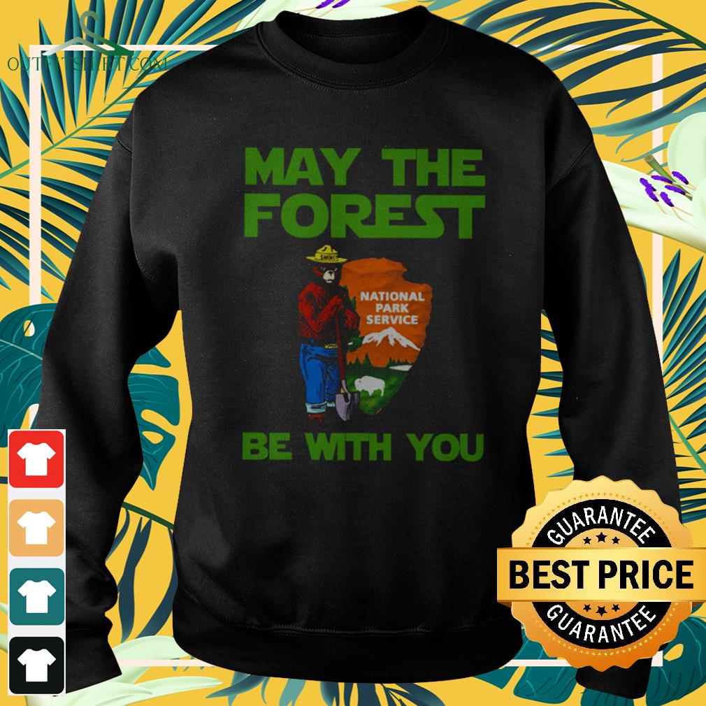 Bear may the forest be with you national park service sweater