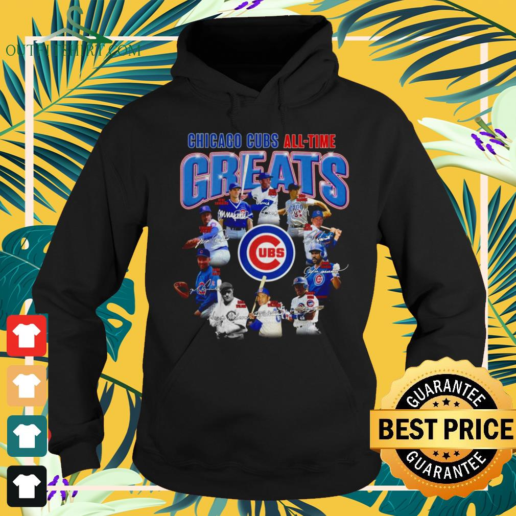 Chicago Cubs all-time greats hoodie