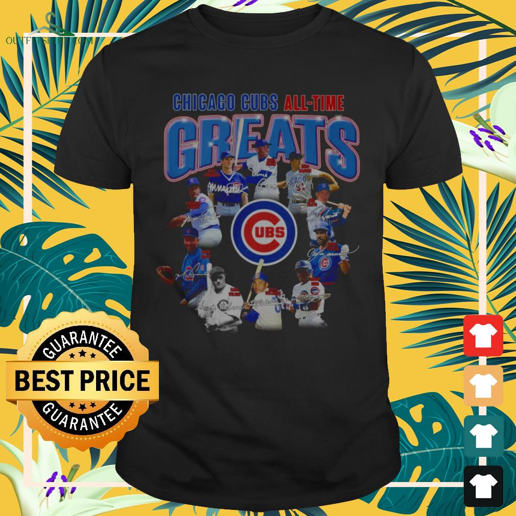 Chicago Cubs all-time greats shirt