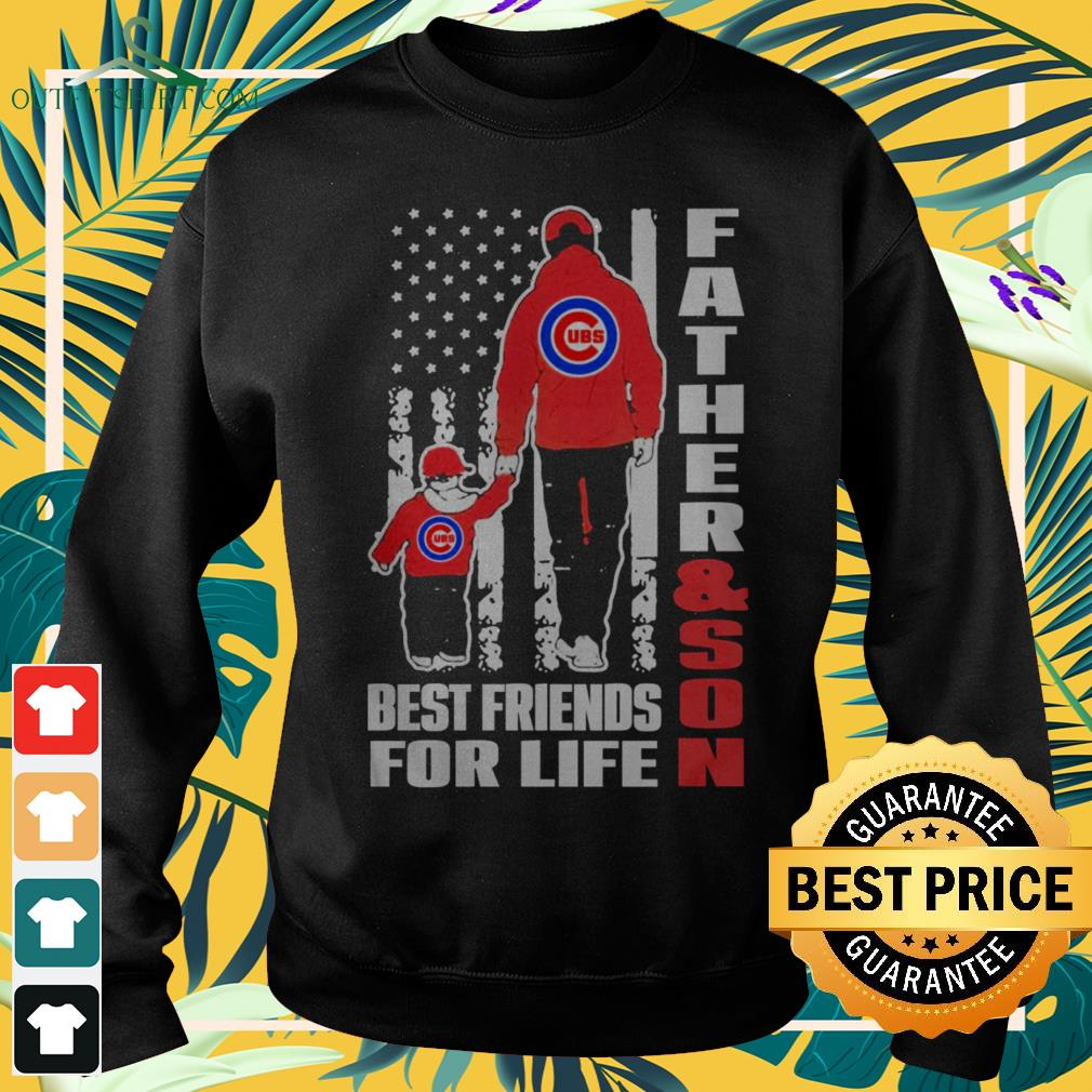Chicago Cubs father and son best friends for life sweater