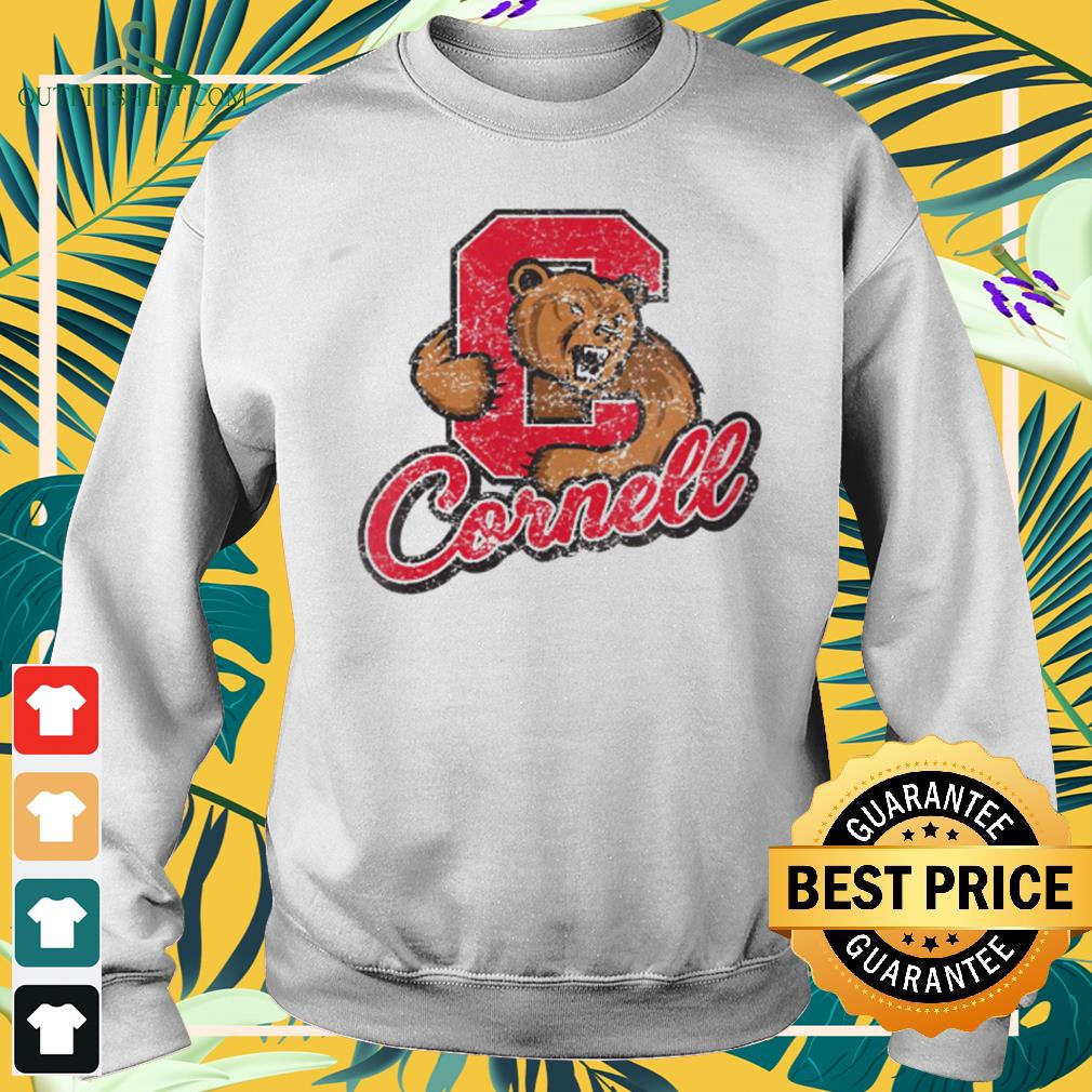 Cornell Big Red Apparel Vintage Distressed C Icon sweater