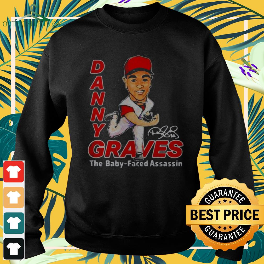 Danny Graves the baby faced assassin signature sweater