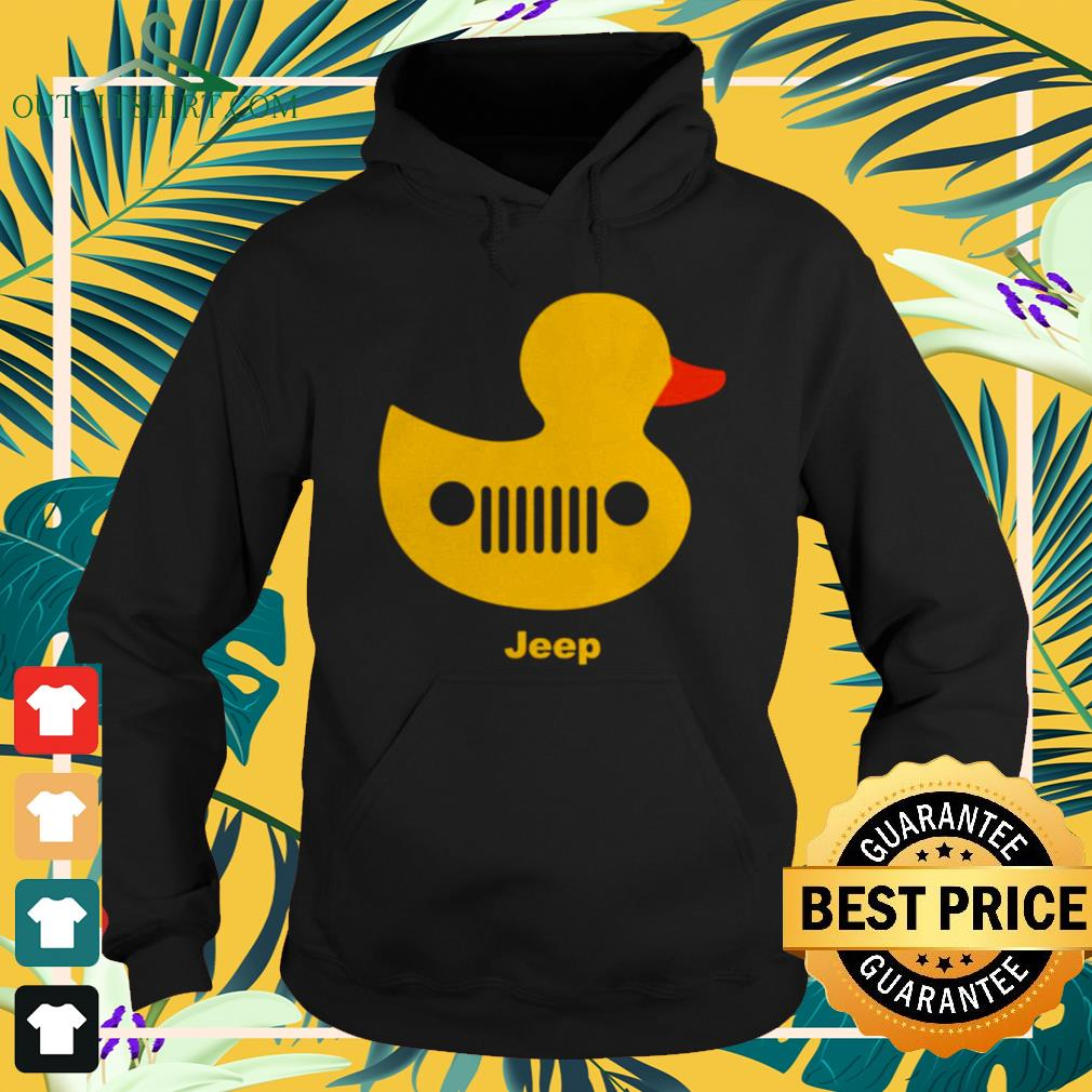 Duck jeep grille Hoodie