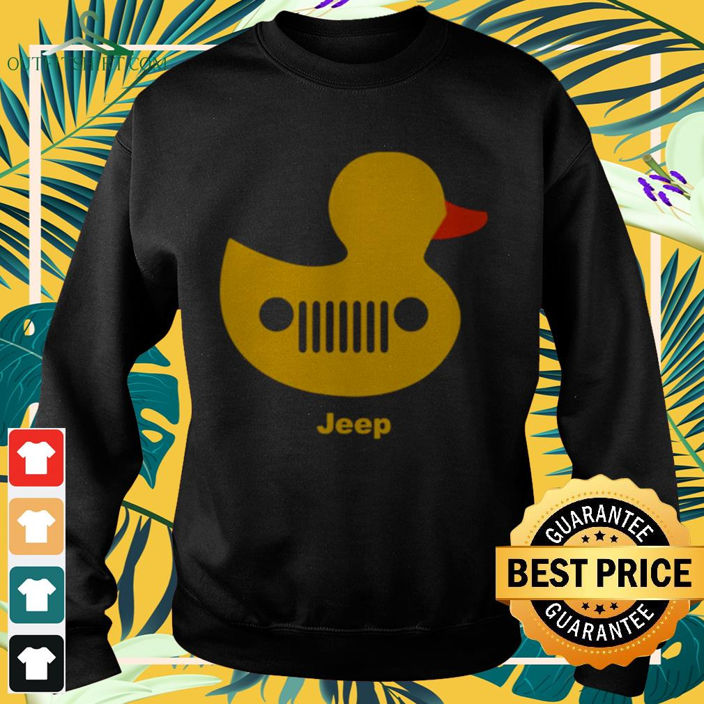 Duck jeep grille Sweater