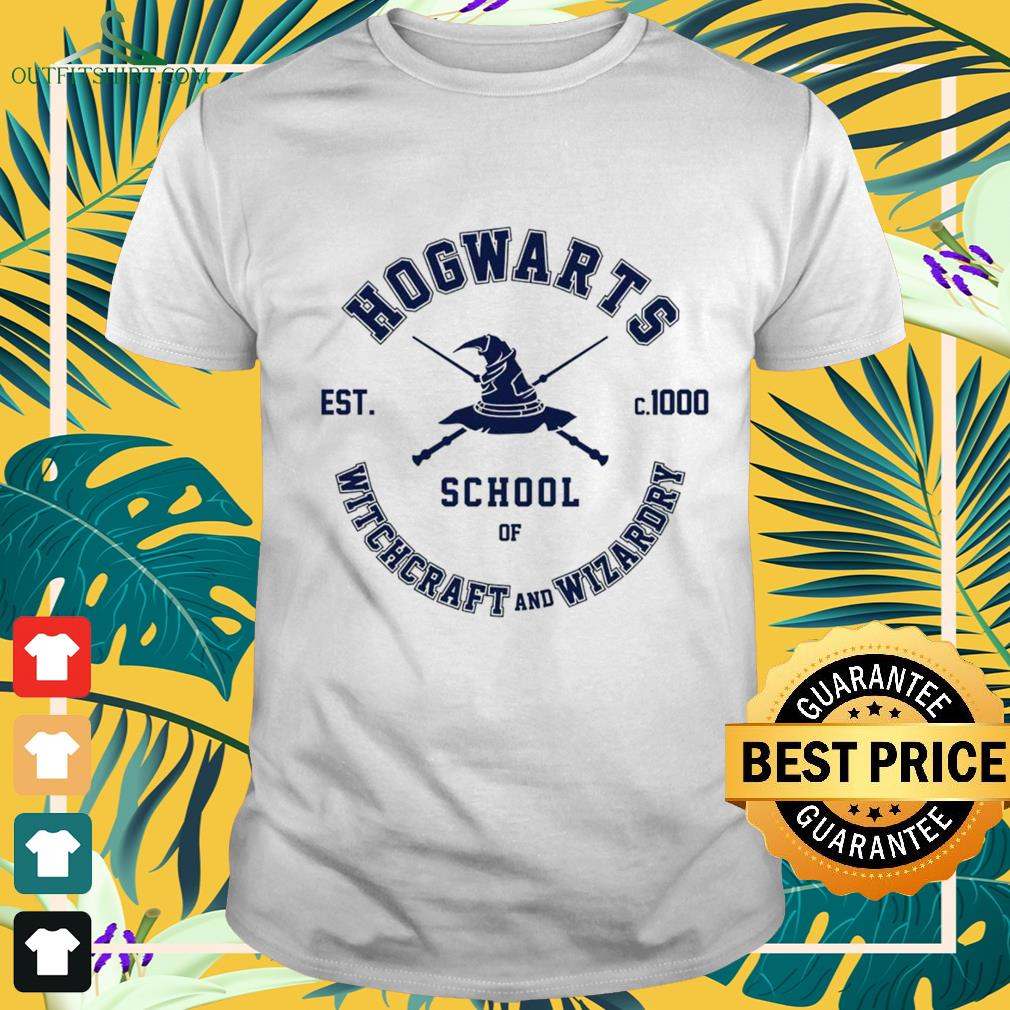 Hogwarts school of Witchcraft and Wizardry est c.1000 shirt