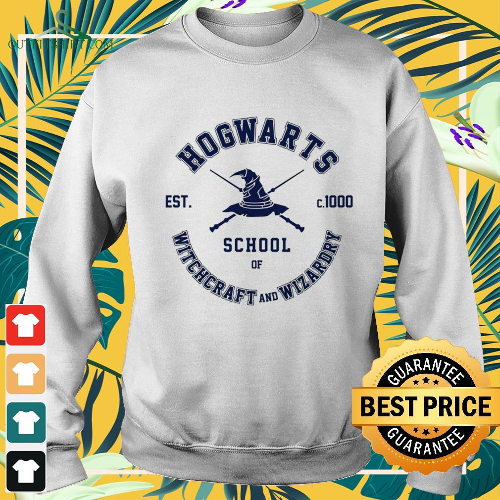 Hogwarts school of Witchcraft and Wizardry est c.1000 sweater