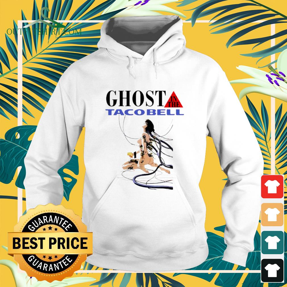 Hot Ghost in the tacobell hoodie