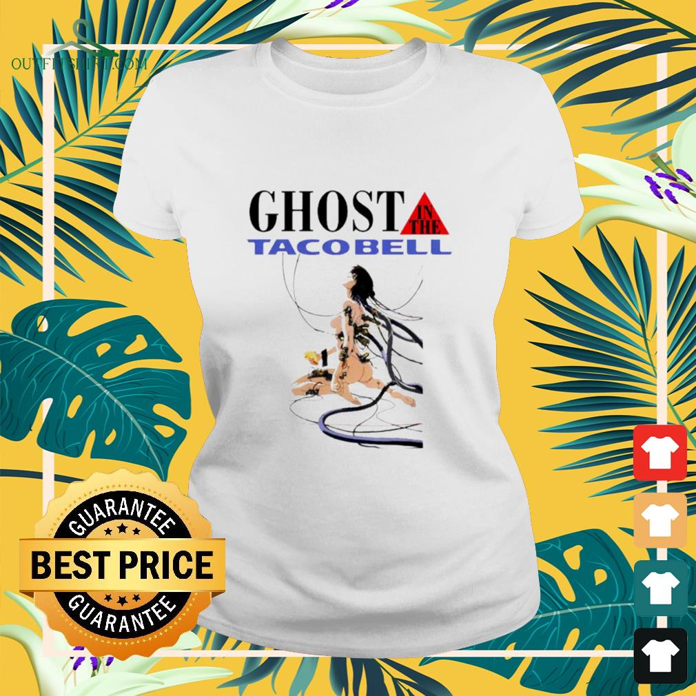 Hot Ghost in the tacobell ladies-tee