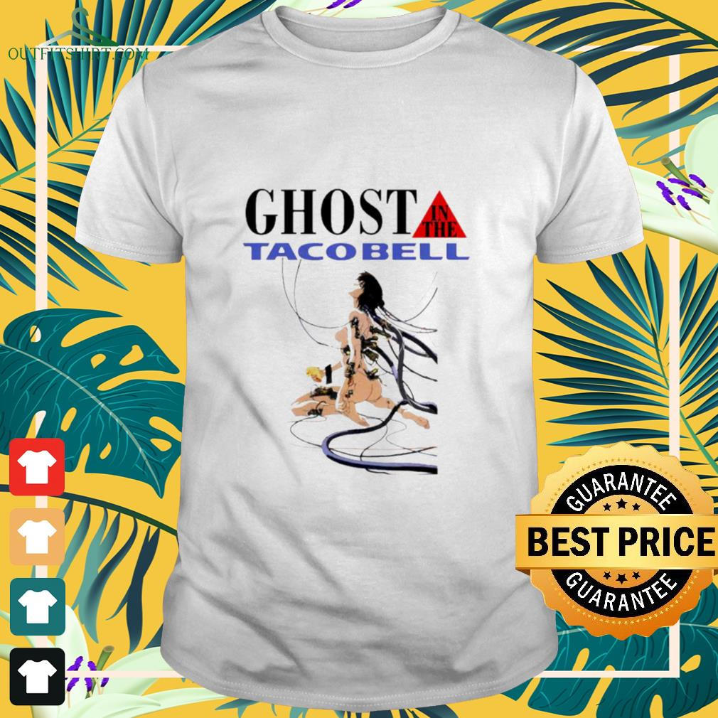 Hot Ghost in the tacobell shirt