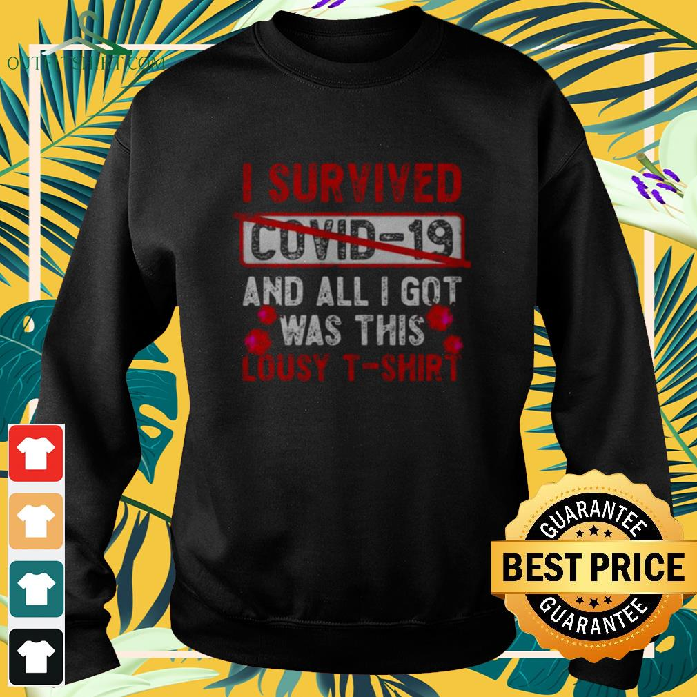 I survived Covid-19 and all I get was this lousy Sweater