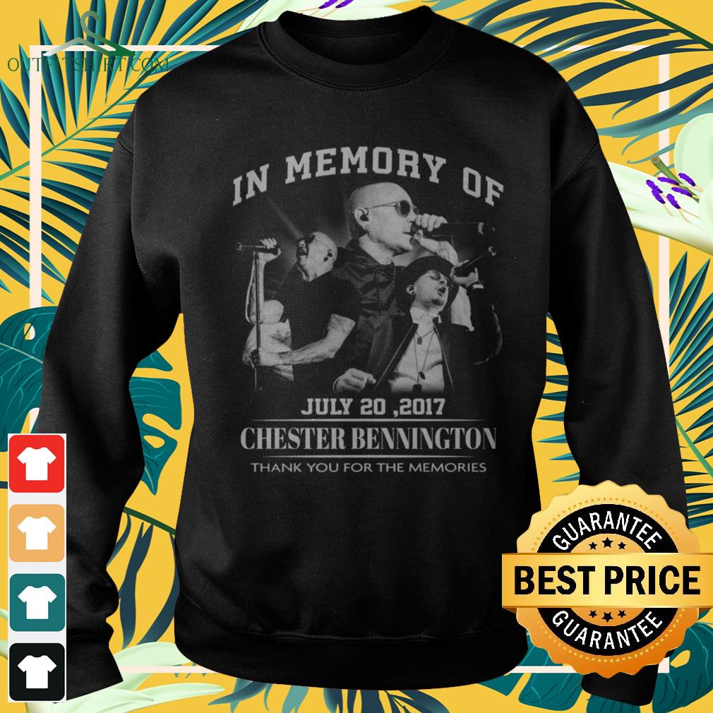 In memory of July 20,2017 Chester Bennington thank you for the memories sweater