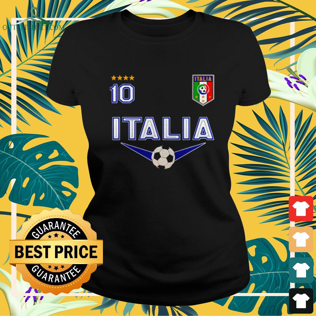 Italy Jersey Soccer 2021 ladies-tee