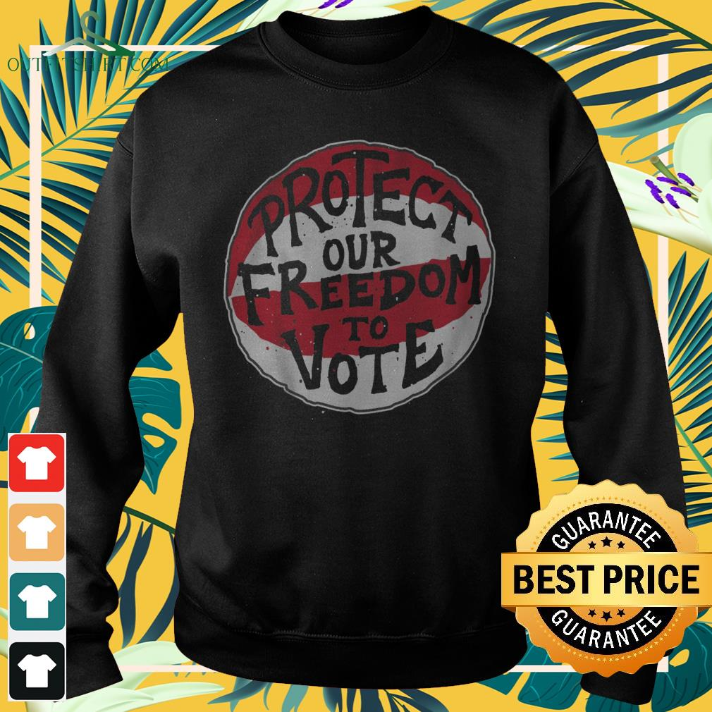 Protect our freedom to vote sweater