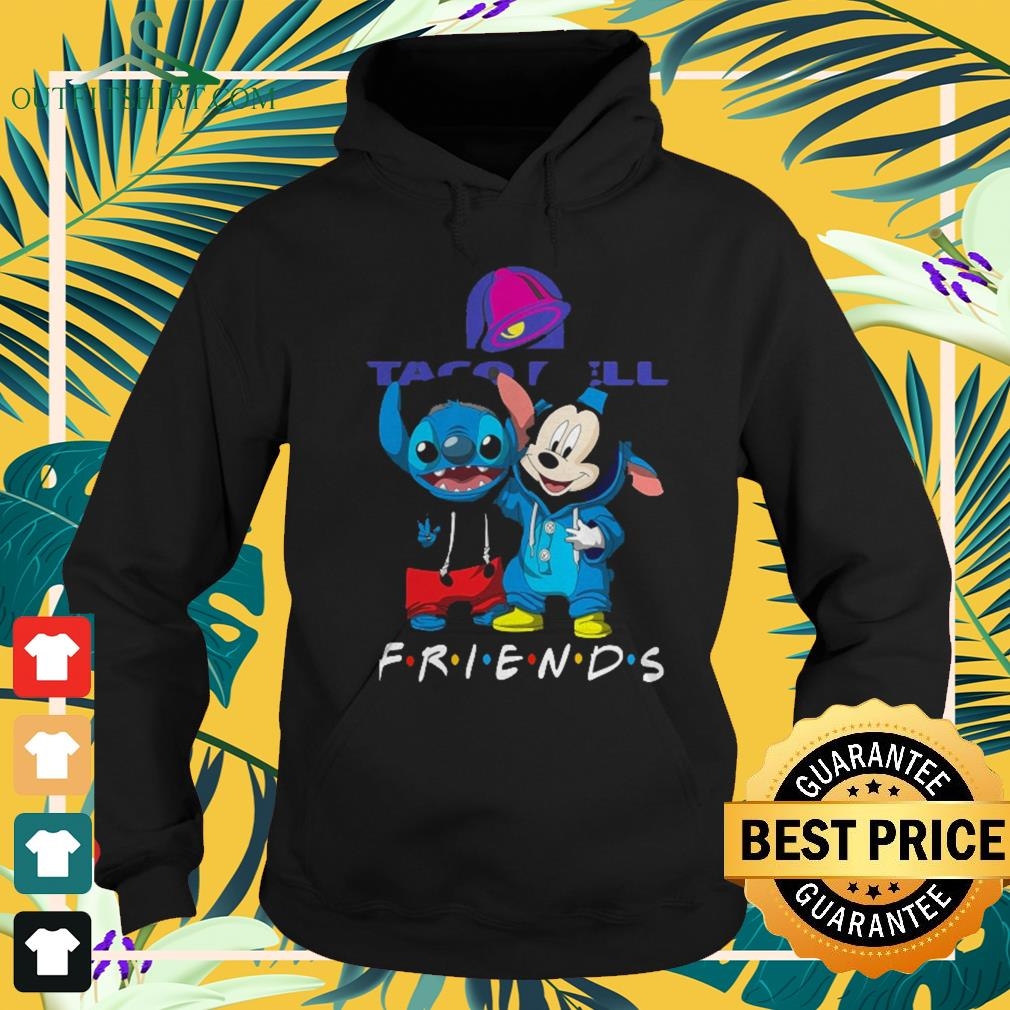 Taco Bell Stitch and Mickey Mouse Friends TV show Hoodie