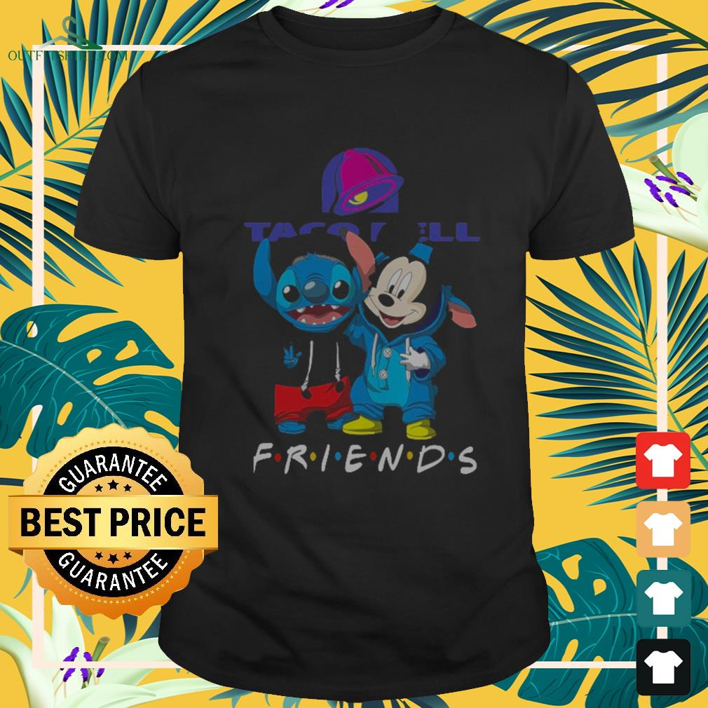 Taco Bell Stitch and Mickey Mouse Friends TV show Shirt