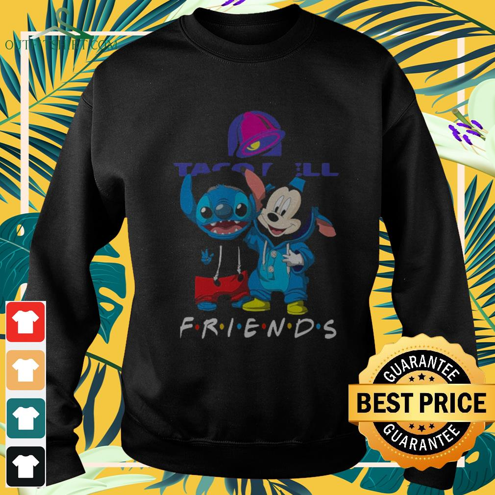 Taco Bell Stitch and Mickey Mouse Friends TV show Sweater