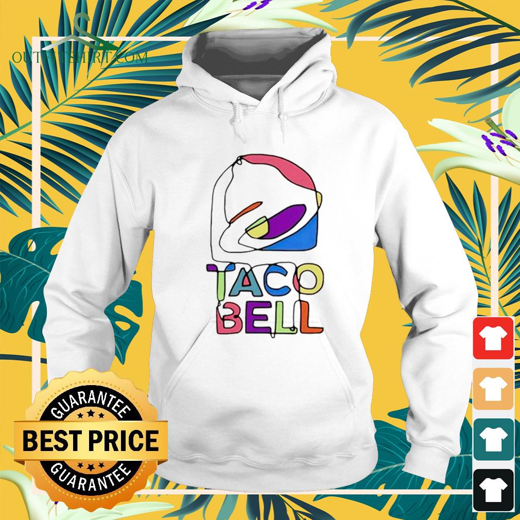 Taco Bell button up Hoodie