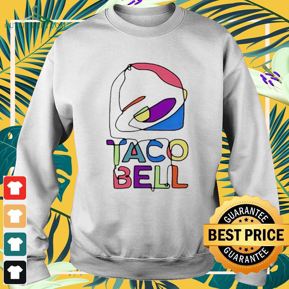 Taco Bell button up Sweater