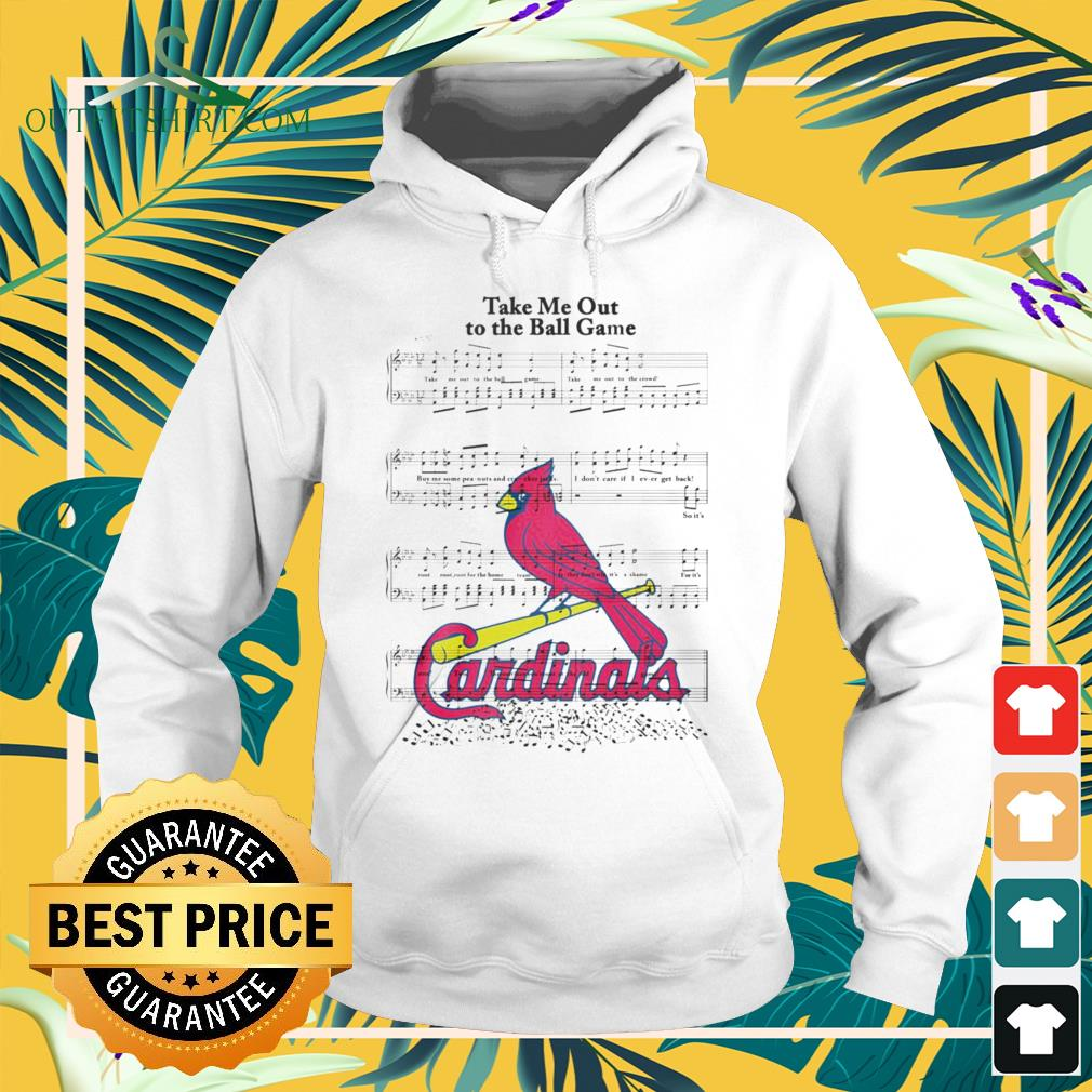 Take me out to the ball game song Arizona Cardinals hoodie