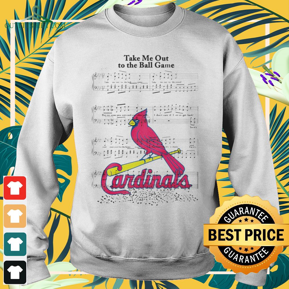 Take me out to the ball game song Arizona Cardinals sweater