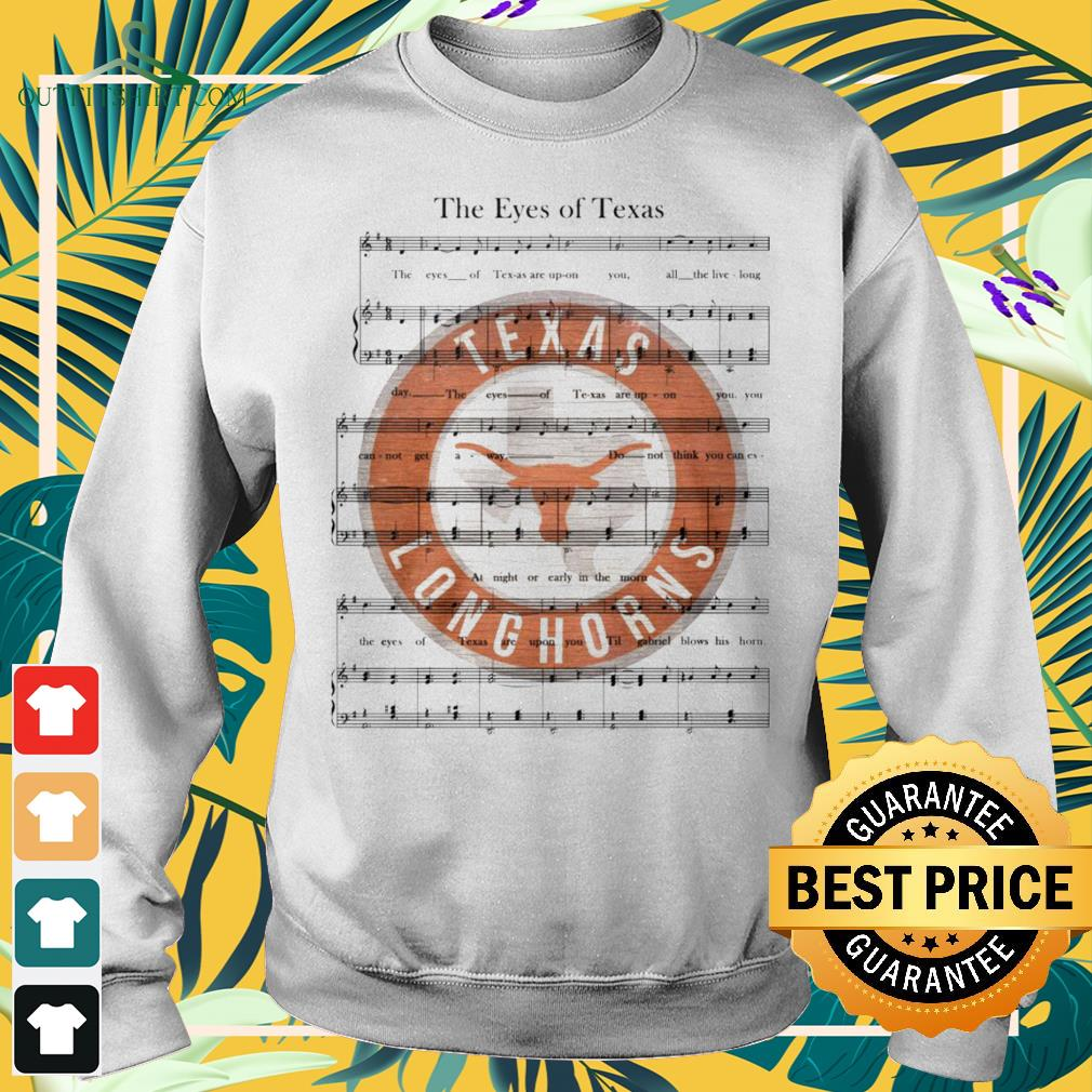 The Eyes of Texas song Texas Longhorns sweater