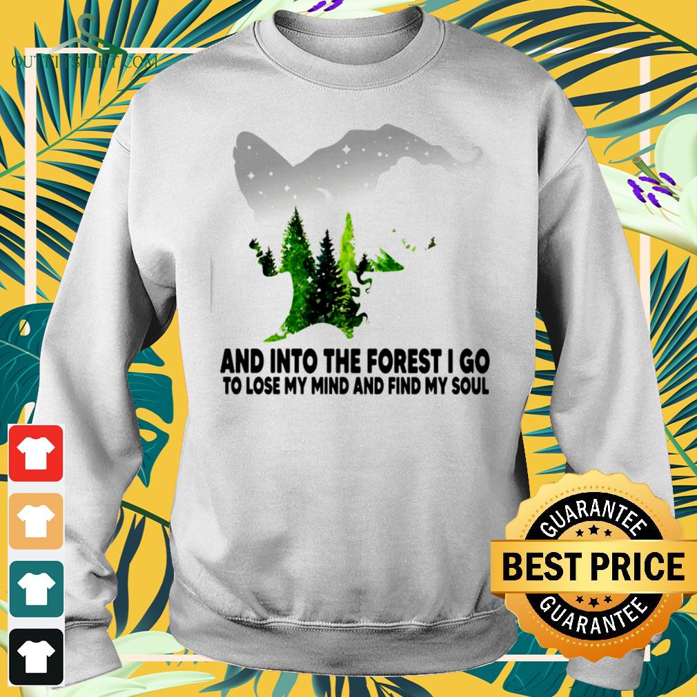 Witch and into the forest I go to lose my mind and find my soul Sweater