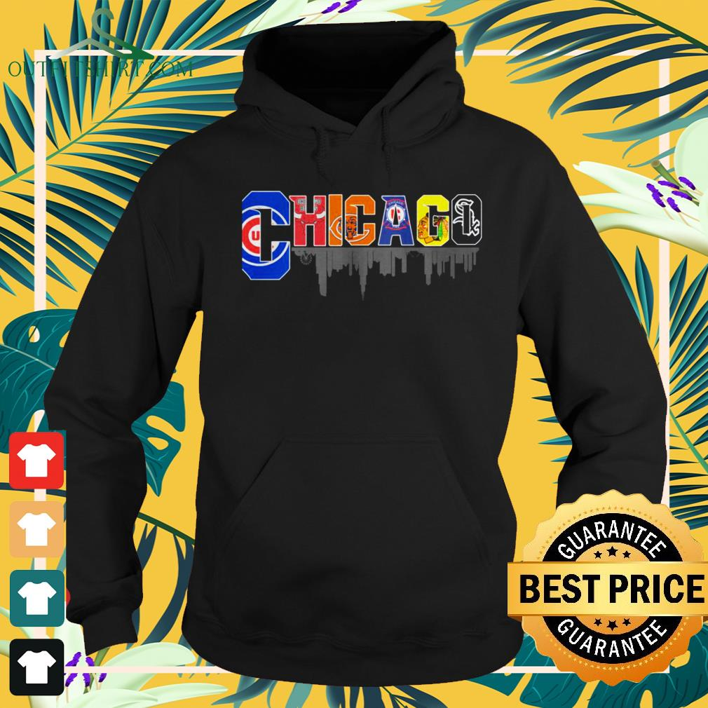 Chicago Professional Sports teams hoodie
