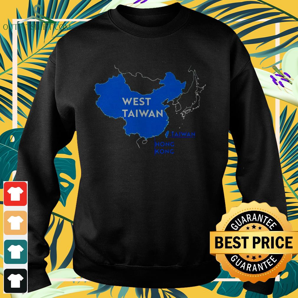 China map West Taiwan funny sweater