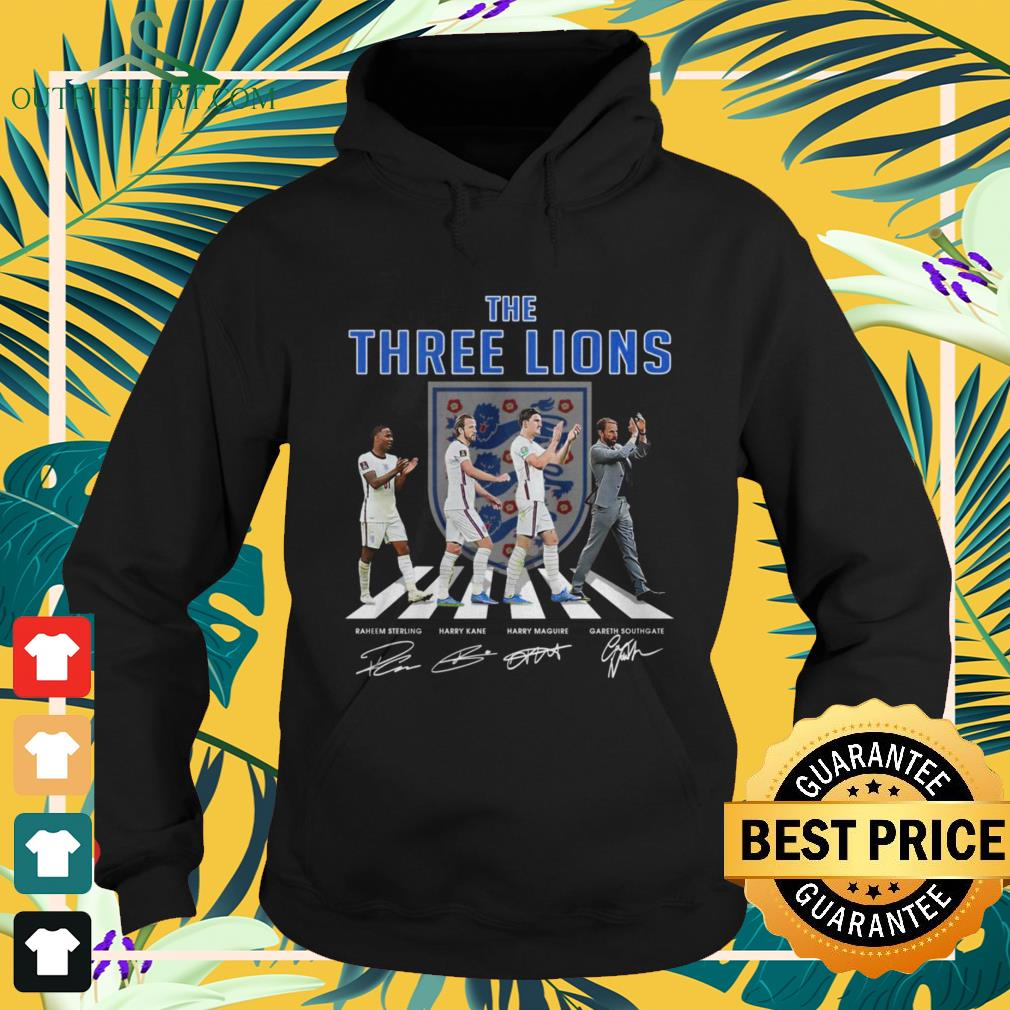 England The Three Lions Abbey Road signature hoodie