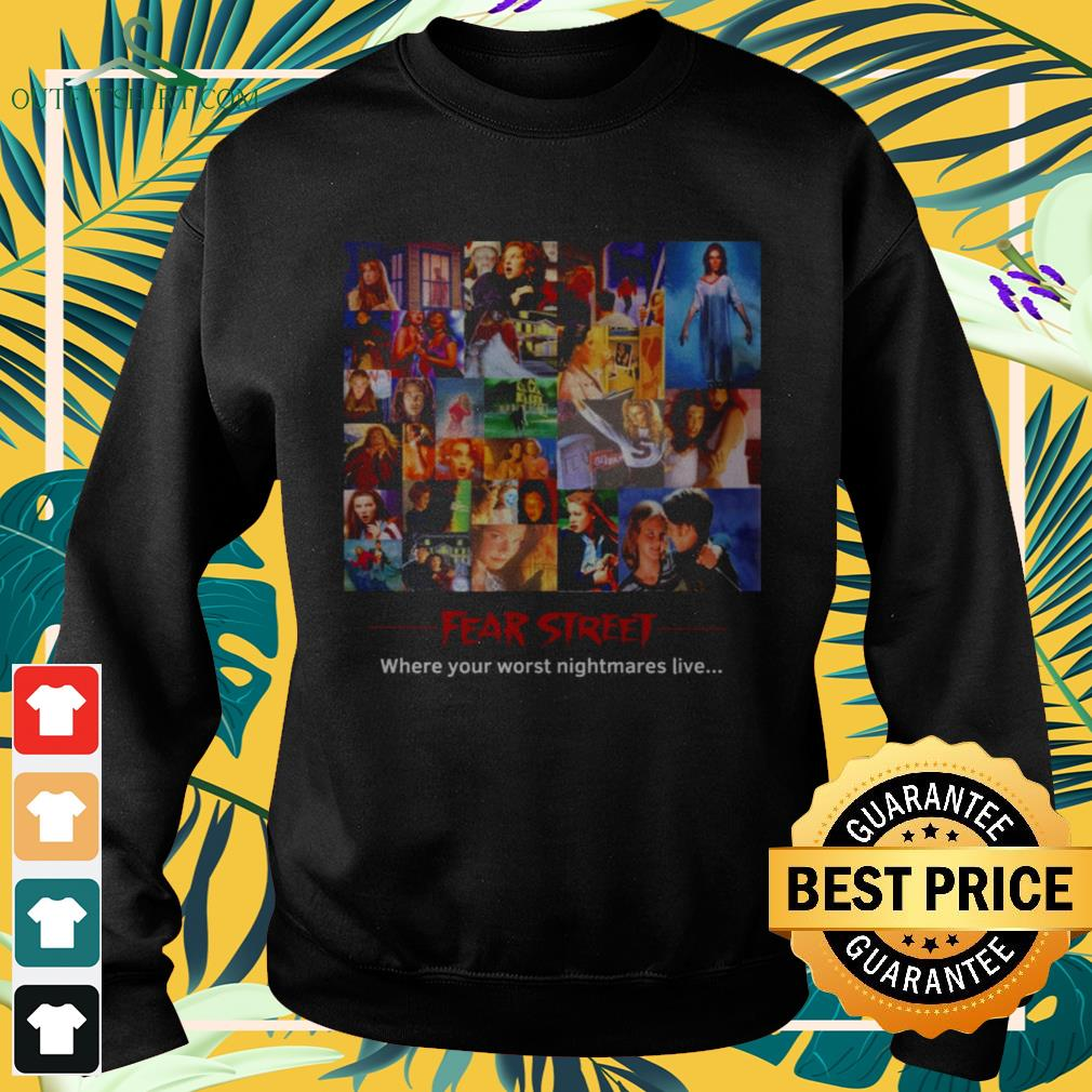 Fear Street where your worst nightmares live sweater
