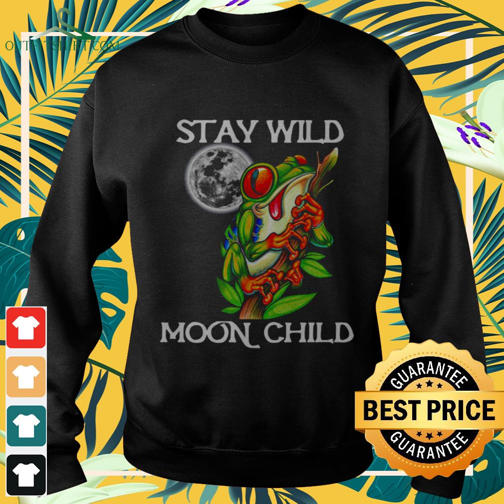Frog Stay wild moon child sweater
