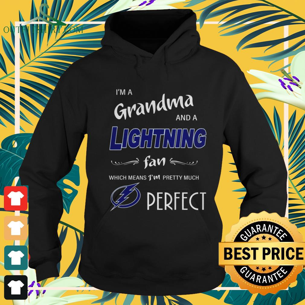 I'm ad grandma and a Lightning fan which means I'm pretty much perfect hoodie