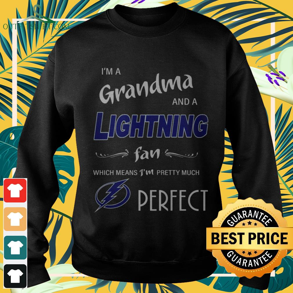 I'm ad grandma and a Lightning fan which means I'm pretty much perfect sweater