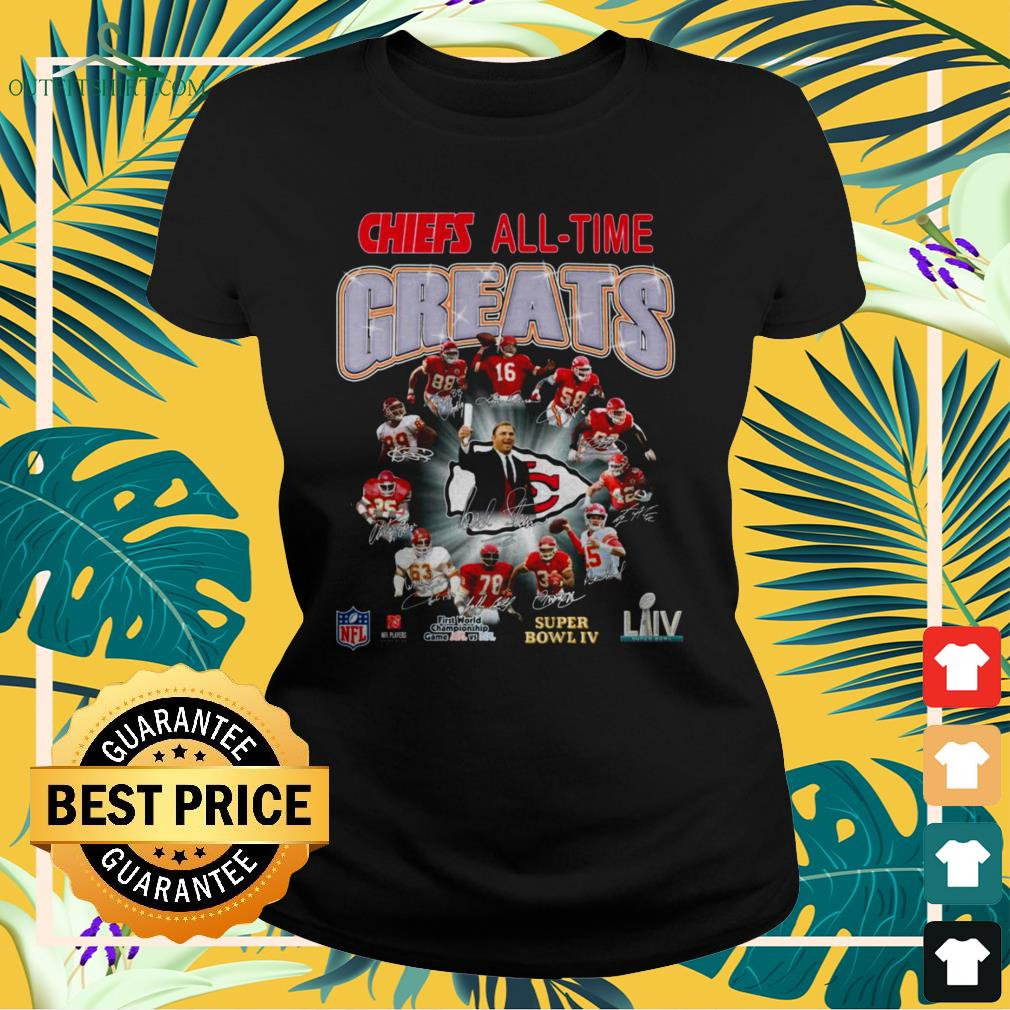 Kansan City Chief All-time greats signature ladies-tee