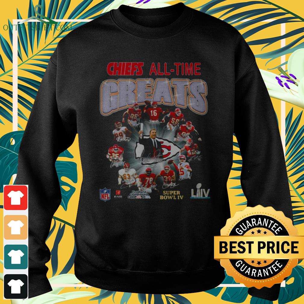Kansan City Chief All-time greats signature sweater