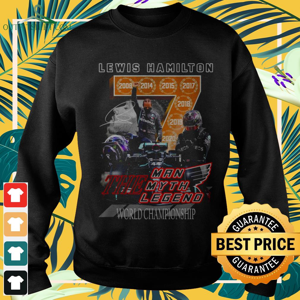 Lewis Hamilton the man the myth and the legend world championship signature sweater