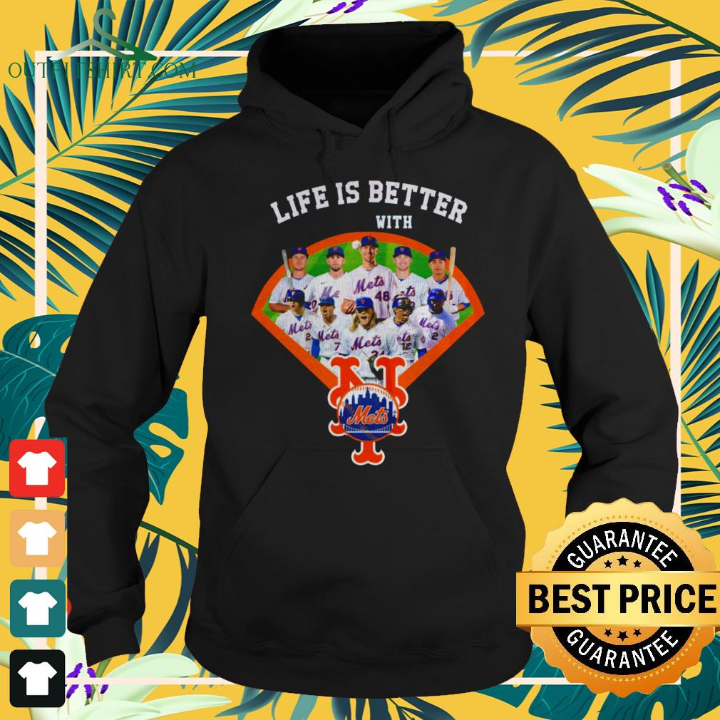 Life is better with New York Mets baseball team hoodie