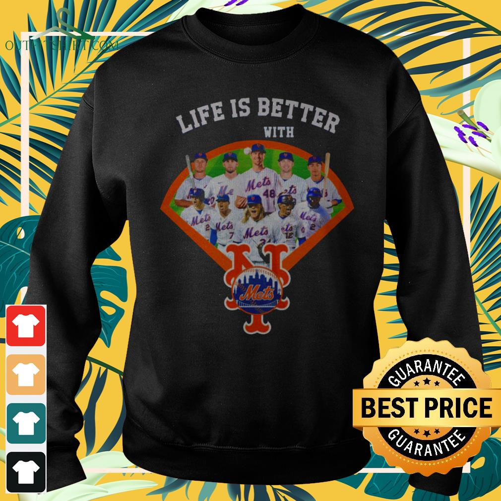 Life is better with New York Mets baseball team sweater
