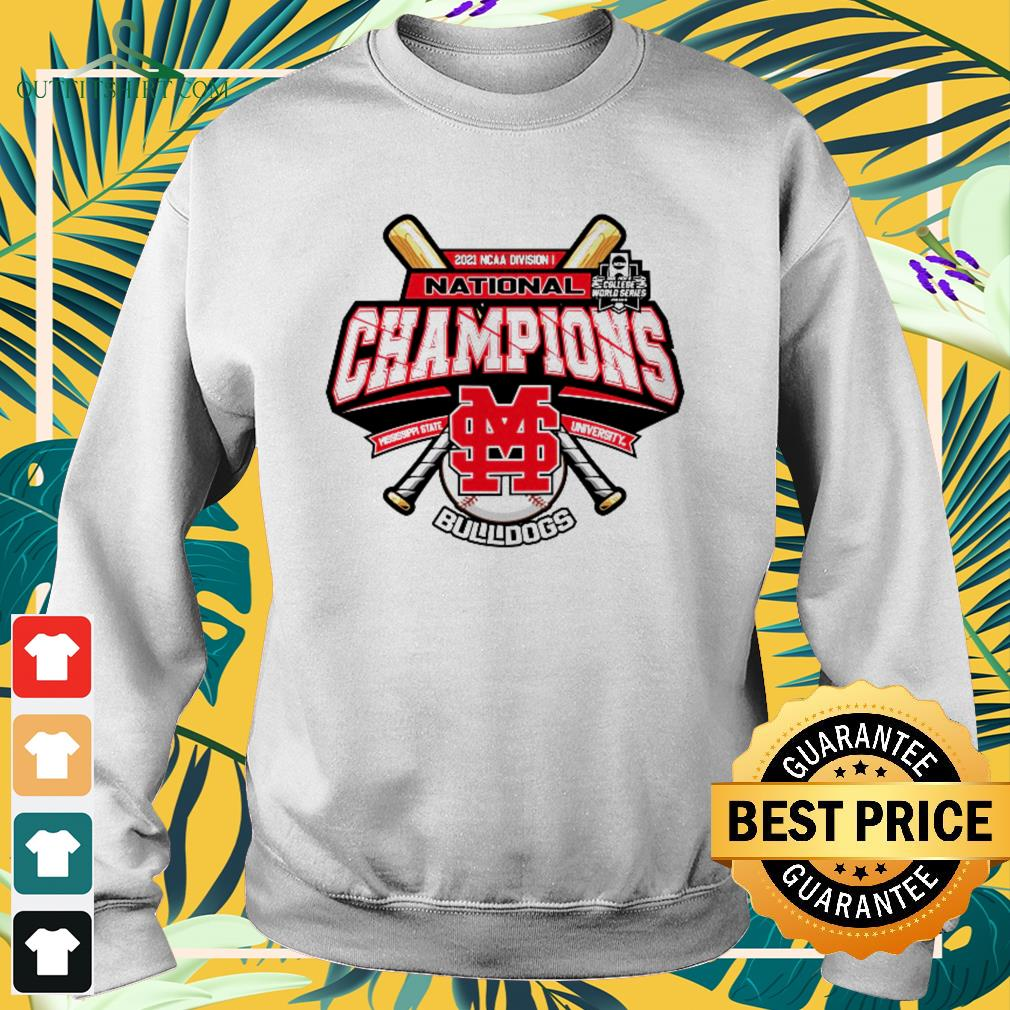 Mississippi State Bulldogs Champion 2021 Ncaa Division Baseball sweater